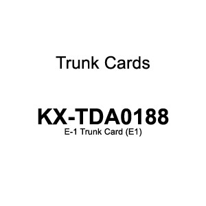 Panasonic KX-TDA0188CE E-1 Trunk Card